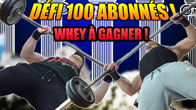 concours whey à gagner !